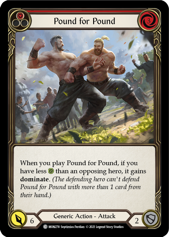 Pound for Pound (Red)
