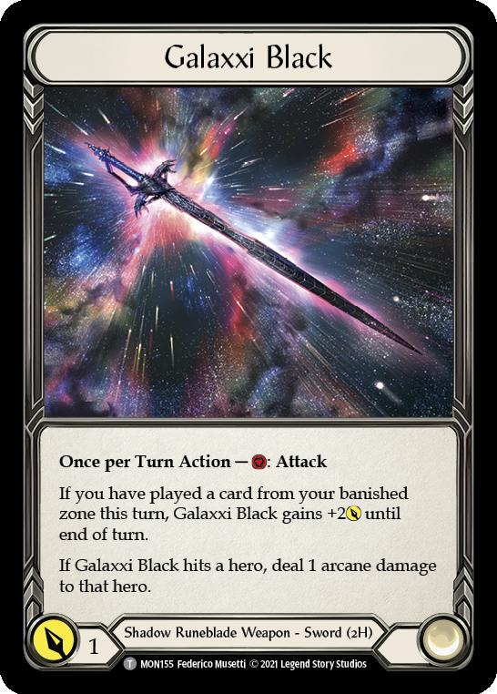 Galaxxi Black