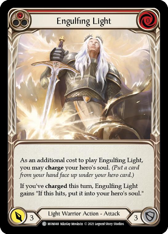 Engulfing Light (Red)