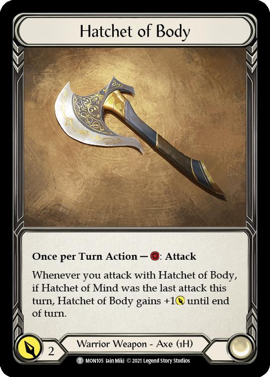 Hatchet of Body